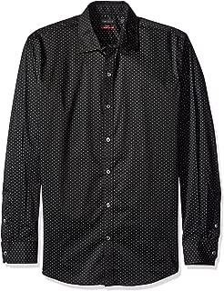 Men's Flex Long Sleeve Button Down Stretch Print Shirt