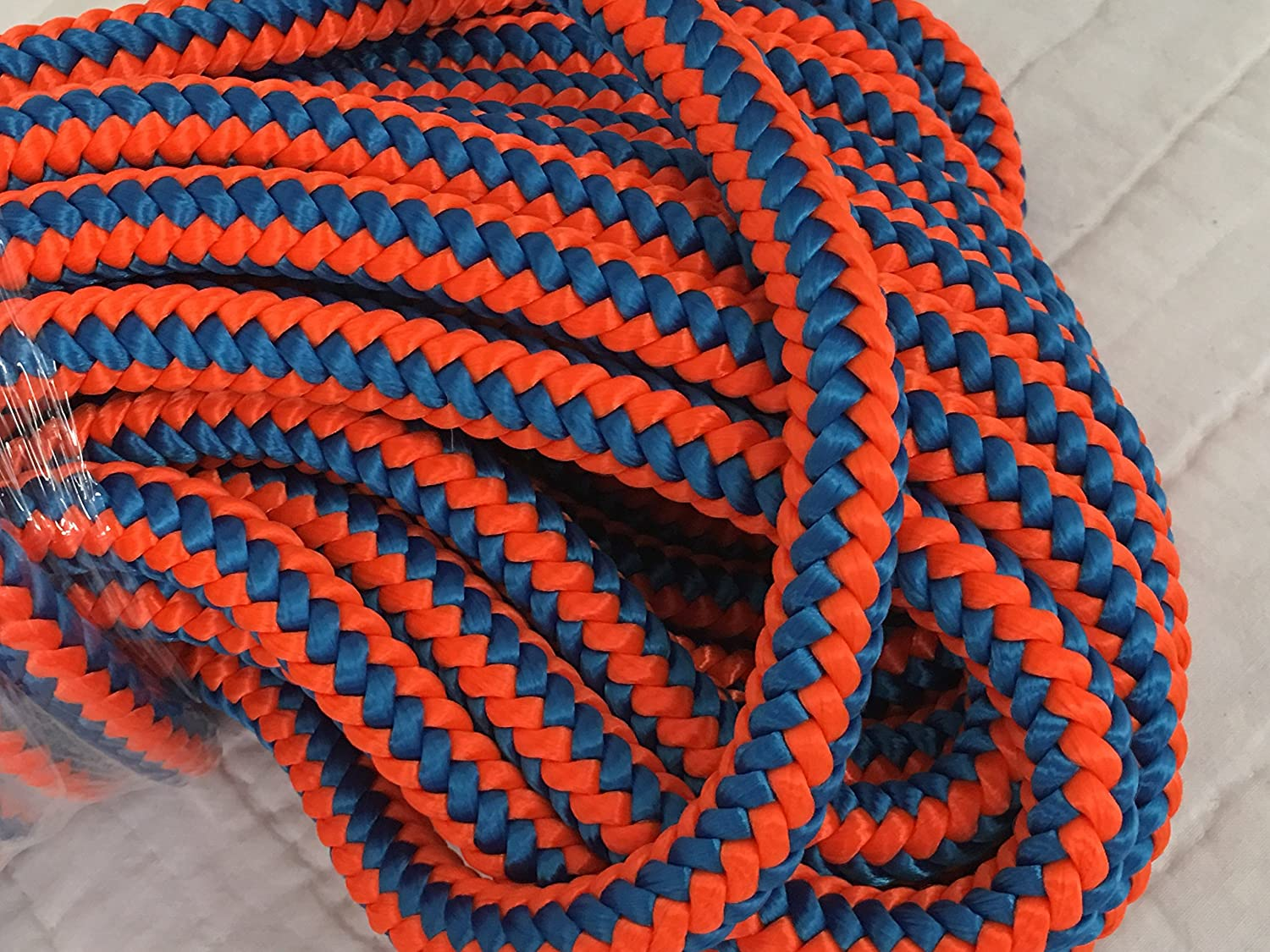 12 Strand Max 73% OFF Arborist Polyester Rope 1 Special price for a limited time 60 2 Blue by feet Orange