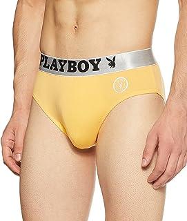 Playboy Men's Solid Brief