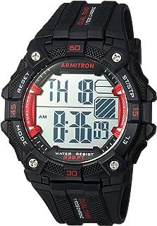 Armitron Sport Men's 40/8403 Digital Chronograph Resin Strap Watch