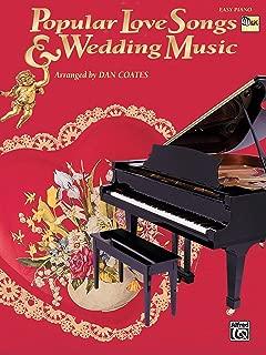 Popular Love Songs & Wedding Music (Easy Piano)