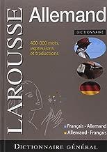 Larousse Dictionnaire general Larousse francais - allemand et allemand - francais (French Edition)