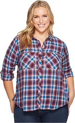 Lucky Brand - Plus Size Plaid Shirt