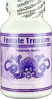Female Treasure - Natural Herbal Supplement, PMS, Balance Hormones, Menopause, Energy.
