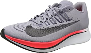 Nike Women's WMNS Zoom Fly Trainers, Grey (Provence Purple/Light Carbon/Solar Red/Black 516), 4.5 UK 38 EU