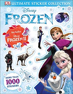 Disney Frozen Ultimate Sticker Collection Includes Disney Frozen 2