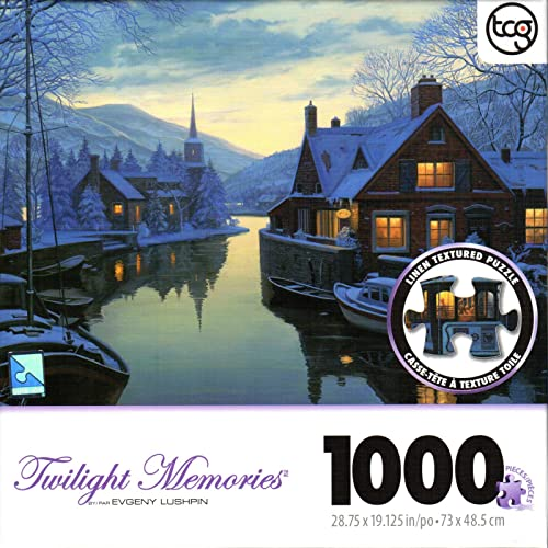 Old Inn By the River By Evgeny Lushpin 1000 Piece Puzzle