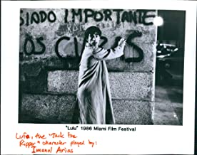 Vintage Photos 1986 Actor Lulu Miami Film Festival Lufa Jack The Ripper Imanol Airis 8X10