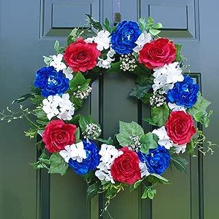 ES ESSENTIALS Patriotic Wreath 24