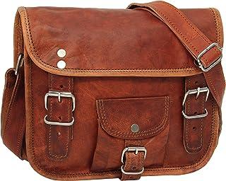 """2f8c0c704c Cartable en cuir - Gusti Cuir nature """"Emilia 7"""" sac à bandoulière vintage  sac"""
