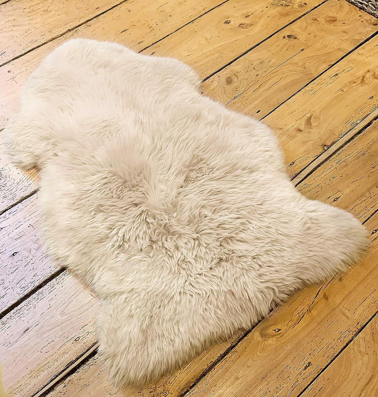 Genuine Sheepskin Rug Sheep Skin Fur Australian Sheep Rug 2 X 3 ft.
