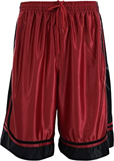 ChoiceApparel Mens Two Tone Training/Basketball Shorts with Pockets (S up to 4XL)