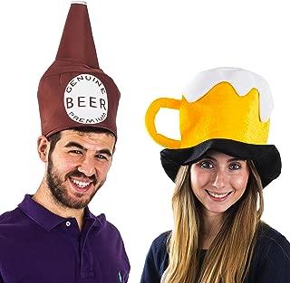 Beer Bottle Costume - Drink Costume Adult - Beer Costumes - Mascot Costume - Beer Mug Hats