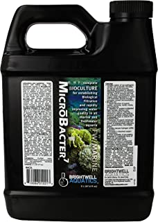 MicroBacter7 - Bacteria & Water Conditioner for Fish Tank or Aquarium, Populates Biological Filter Media for Saltwater and...