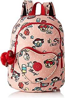 Heart Backpack Mochila Infantil, 32 cm, 9 Liters, Multicolor (Monkey Play)