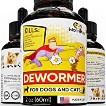 Dewormer for Dogs and Cats Broad Spectrum Worm Treatment for Pets & Puppy &..
