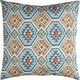 Rizzy Home Indoor/Outdoor Eresha Decorative Pillow, Blue