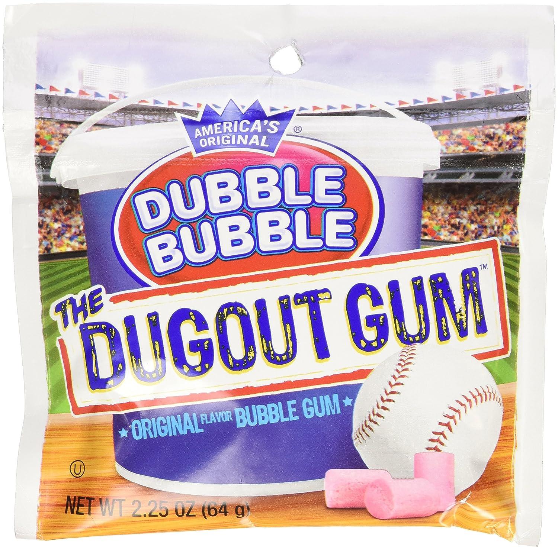 Recommended Original Dubble Bubble GUM the Dugout Pouc Super popular specialty store Gum 12 Oz Each 2.25