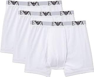 Mens Boxer Shorts Underwear 110869CC712 Size L White