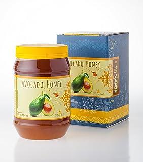 Honey Land 100% All Natural Avocado Honey Organic From the Nectar of The Israeli Avocado flower Blossom – Rich Molasses Ta...