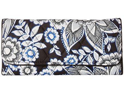 Vera Bradley RFID Trifold Wallet (Snow Lotus) Wallet Handbags
