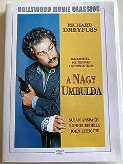 The Big Fix 1978 Movie EUROPEAN PAL EDITION / O Grande Engano / A nagy umbulda / Der große Trick / Moses Wine detective / Klippet / Detective Privado / La grande triche