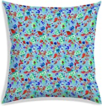 RADANYA Decorative Floral Printed Square Pillow Case Cushion Covers -Insert not Included