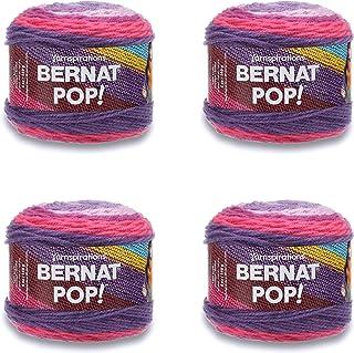 BERNAT POP - PACK OF 4 BALLS - 140G EACH BALL - VIOLET VISION