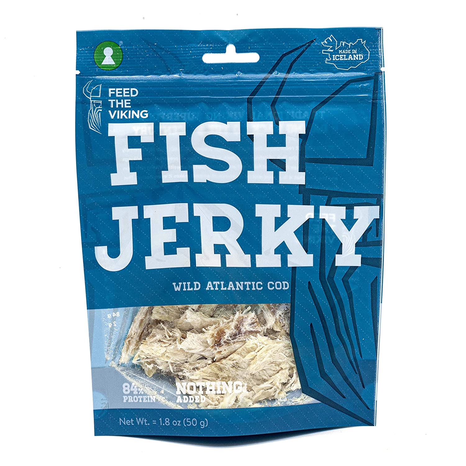 Dried Fish Jerky At the price - 1 PACK 50g Cod from Wild Spasm price of Atlantic 1.8oz