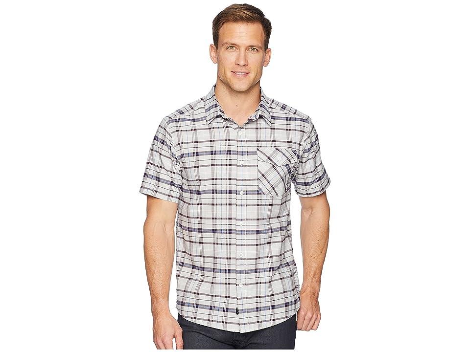 Mountain Hardwear Drummond Short Sleeve Shirt (Grey Ice) Men
