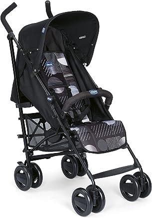 15f16d548 Chicco London - Silla de paseo, 7.2 kg, compacta y manejable, color negro