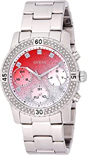 Guess Confetti Women's Multi Color Dial Stainless Steel Band Watch - W0774L7