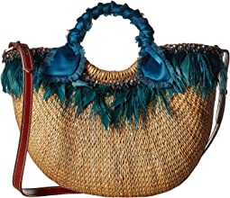 Sam Edelman - Eliya Feather Straw Tote