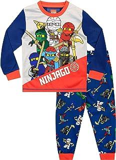 LEGO Ninjago - Pijama para Niños Ninjago - Ajuste Ceñido