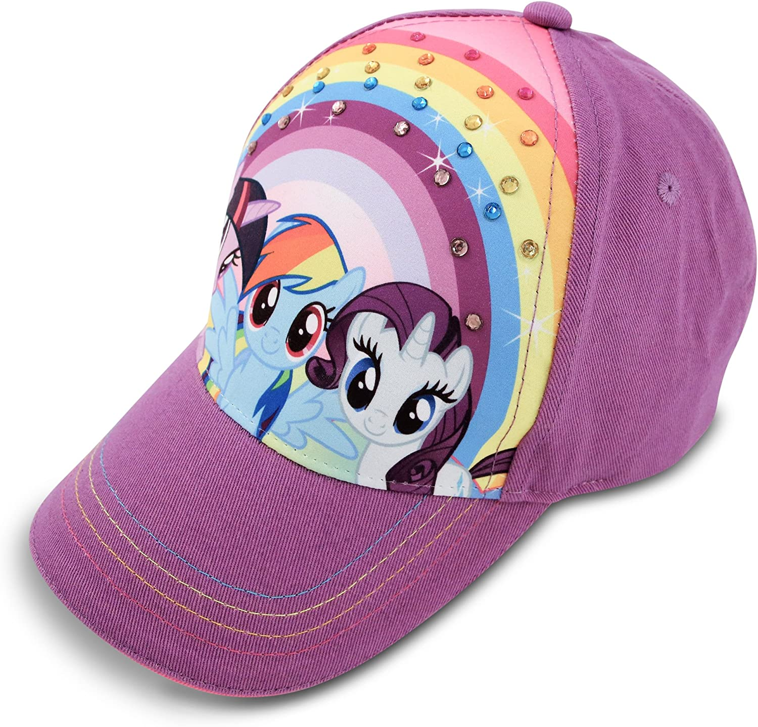 Hasbro Little Girls My Pony Some reservation Some reservation Cap Cotton Rainbow Baseball