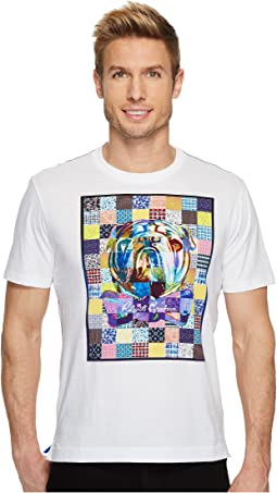 Robert Graham - Bowtie Bulldog Short Sleeve Knit Graphic T-Shirt