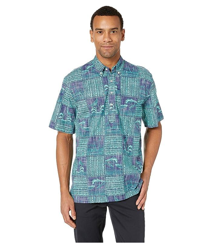 Reyn Spooner Mens Classic Fit Pullover Hawaiian Shirt