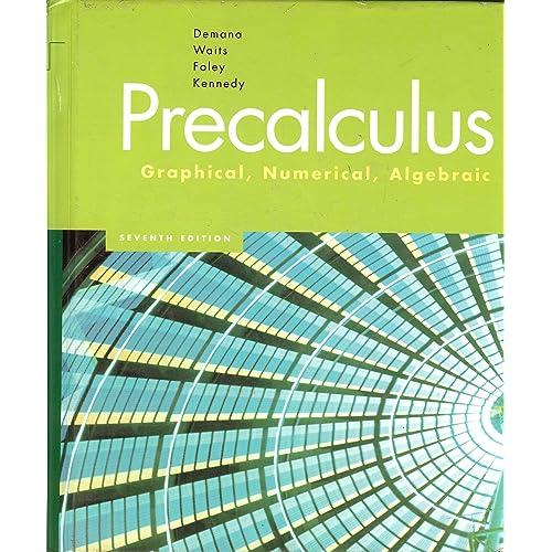 Precalculus Textbook: Amazon com