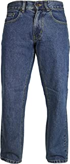 "Raphael Valencino Mens Plain Comfy Jeans, Indigo/Stonewash Inside Leg: 27"""