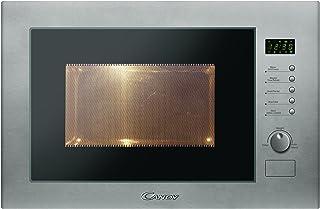 Candy MIC25GDFX Microondas integrable con grill sin marco, plato giratorio 31,5 cm, 10 programas, 900 W-1000 W, 25 litros,...