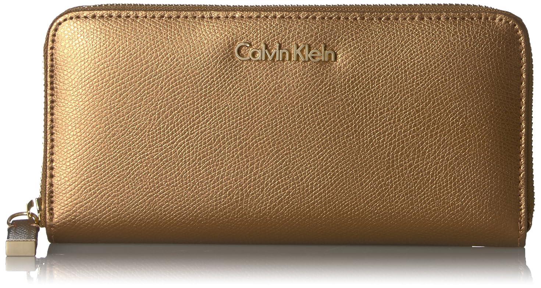 特異なスクラッチオープナーCalvin Klein カルバンクライン 財布 メンズ 長財布 Men's MoNogram Continental Zip Wallet