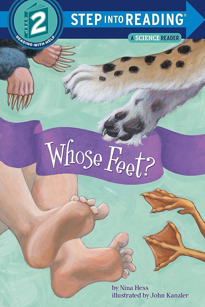 有毒な部分的摂氏度Whose Feet? (Step into Reading) (English Edition)