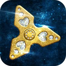 Metal Fidget Spinner Game: Antistress App | Hand Spinning Toy Floating Virtual Spinner Swiping Game