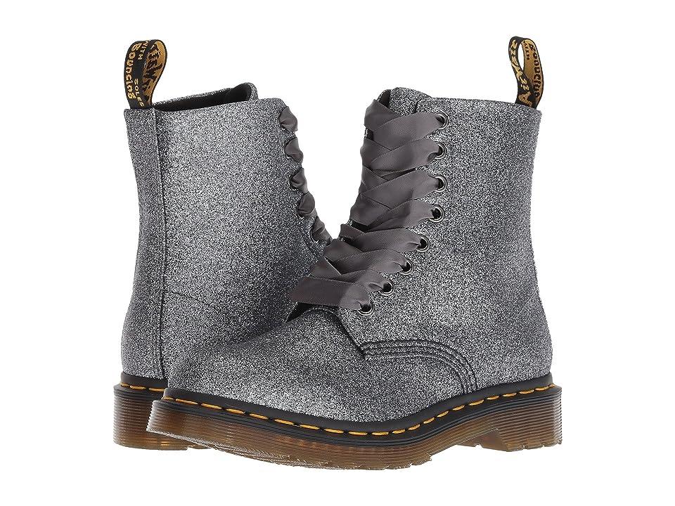 fc6325611212 Dr. Martens 1460 Pascal Glitter Core (Pewter Glitter PU) Women s Boots