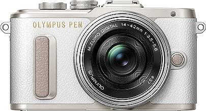 OLYMPUS PEN E-PL8 14-42mm EZ lens kit [White][International Version, No Warranty]
