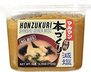 Honzokuri Low Salt Miso 26.4 Oz