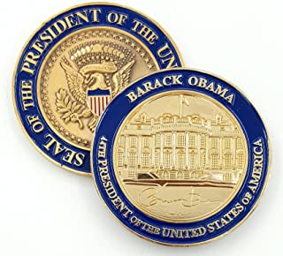 President Barack Obama, White House Personal Challenge Coin.