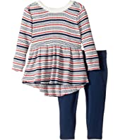Splendid Littles - Yarn-Dyed Stripe Sweater Shirt with Leggings Set (Infant)