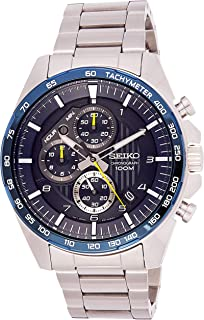 Chronograph Motor Sports 100m Blue Dial Watch SSB321P1