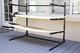 Insight Floor Surfboard Stand Up Paddle Board Rack - Steel Construction